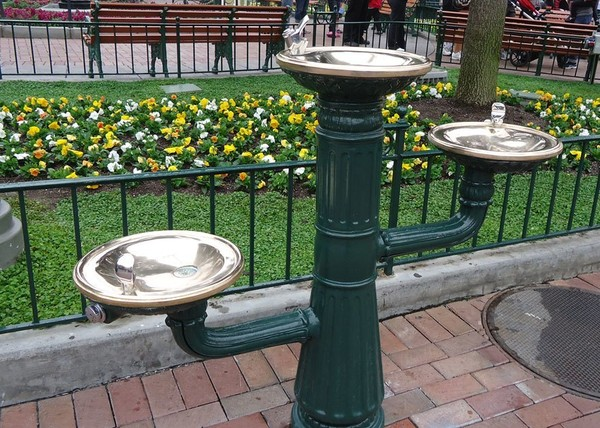 1890 Drinking Fountain