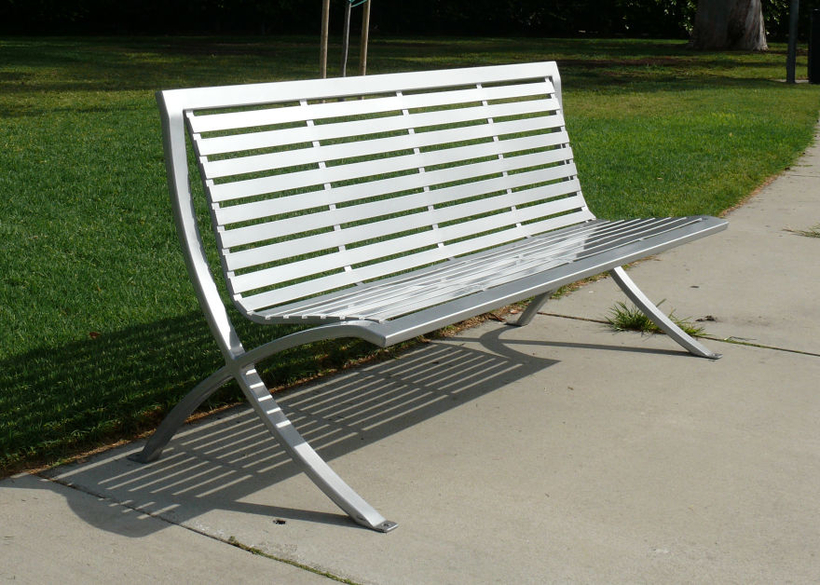 fabricated with steel or aluminum seating