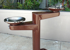 Los Angeles Drinking Fountain - Two Bowls