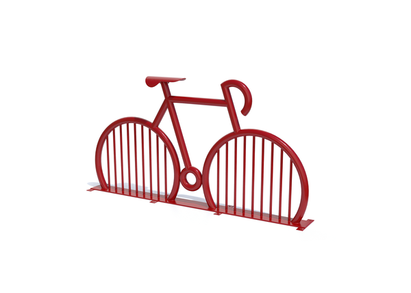 Big Red Bike Rack