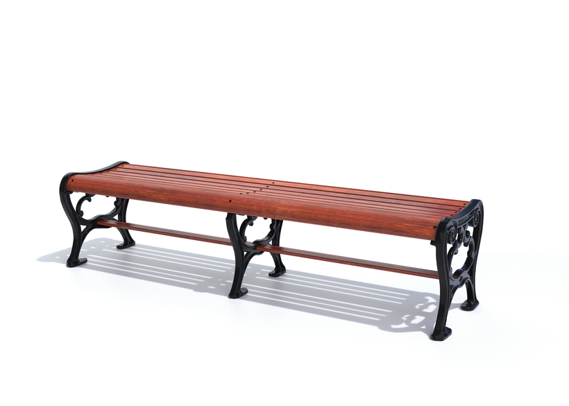 with premium Jatoba hardwood seating
