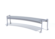 Bowery Bench - Curved Backless