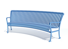 Bowery Bench - Curved